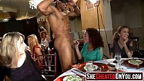 49 Massive  Cock hungry milfs suck off young stripper17