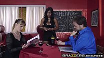 Brazzers - (Jenna J Foxx, Johnny Castle) - A Tip For The Waitress.