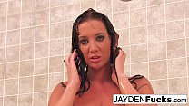 Busty Jayden Jaymes Takes A Hot Long Shower