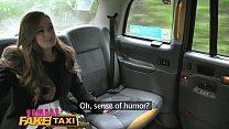 Female Fake Taxi Redheads tongue makes pretty posh ladies pussy cum