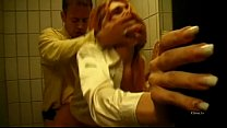 Fucked by Rocco Siffredi in a bathroom like a bitch!