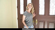 ShesNew - Cute Blonde (Crissy Kay) Fucked During Audition