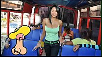 CULIONEROS - Young Colombian Babe Boards A Bus ...