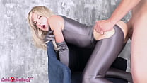 Blonde Blowjob Big Dick and Doggy Fucking after Work - Amateur