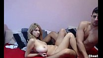 Girlfriend with amazing tits gets fucked
