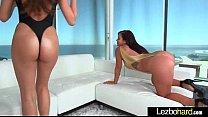 Young Lez Girls (Keisha Grey & Nina North) Play In front Of Camera mov-24