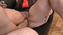 Amateur BBW french mom sodomized and fist fucked preview image