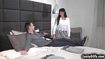 Sexy GILF Sissy visited her horny lover Toby. S...