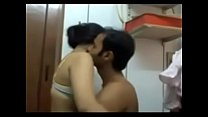 Cute Indian Babe Creampied and Fucked Hard by B...