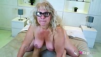 16708 63yo ULTIMATE GILF Fina gets impaled by a missile cock preview