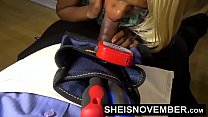 12382 Ebony Fucking Hardcore Doggystyle & Deepthroat Blowjob Plumber To Pay For Bill preview