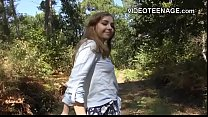 blonde teen does porn casting