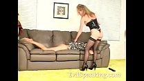 Two sluts spanking the neighbor