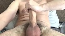 Jerking Hard Cock