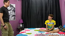 Lollipop gays Elijah White and Max Martin anal bang and cum