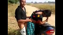 desi couple hav ing quickie by the road while  the road while friend films