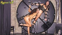 """MAMACITAZ - #Frida Sante #Melody Petite - Mexic Lesbian Girls Are Going Wild On A """"50 Shades"""" BDSM Chamber"""