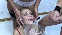 Premium Bukkake - Angela swallows 67 huge mouthful cumshots Vorschaubild