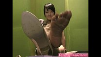 Cherry AsianFeet - Model brunette