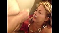 57yo Carol taking a facial