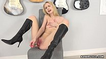 Solo cock teaser, Chanel Shortcake got excited,...