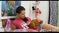 Nasty hottie is desirous for proper stimulation and hardcire sex thumbnail