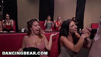 DANCING BEAR - Sean Lawless Slings Dick At Wild CFNM Party With Zoey Parker, Daisy Stone, Lexi Brooke, and More! - 69VClub.Com