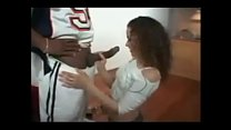 Sexy Puerto Rican Receives Vaginal Creampie
