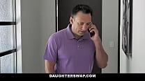 Birth Control Daughter Bang - Jenna Ross, Kenna James - FULL SCENE on http://DaughterSwap3X.com