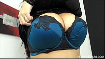 Euro Plus Sized Beauty Anastasia Lux Makes Plum...'s Thumb