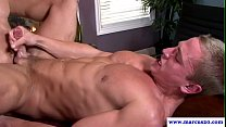 Ripped straight muscle hunk fucked in ass