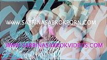 Sabrina Sabrok super hot behind the scenes photoshoot anal sex cum in mouth