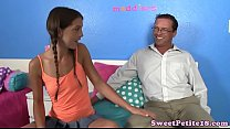 Petite teen screwed by her stepdaddy thumb