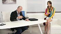 Tricky Old Teacher - Experienced but kinky teacher seduces his hot student