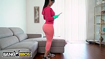 BANGBROS - My Dirty Maid Rose Monroe Slams Her Big Ass On My Cock! thumbnail