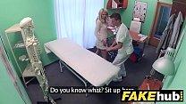 Fake Hospital Dirty doctor gives blonde Czech babe wet panties Vorschaubild