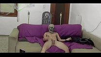 Video title: a terrifying fuck on the couch at home with fat tits that want cock