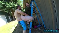Download video bokep Slutty Wife Fucks The Landscaper 3gp terbaru