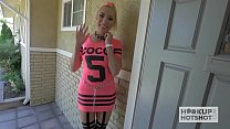 Blonde Bimbo Gets Roughed Up on Hookup Hotshot Preview