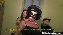 The muscular whore Rita Balboa in amateur orgy
