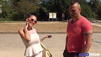 Lena steap-teaseuse aux gros seins se fait baiser par un joggeur [Full Video] thumbnail