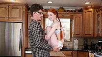 DON'T FUCK MY DAUGHTER - Petite Redhead Teen Do...