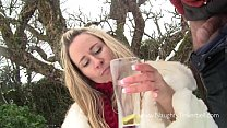 17070 Piss drinking, girl swallowing stinky yellow Master's pee & sucking cock. Pissen preview
