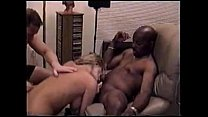 5934 Best Group Sex Video Ever-2 Black Men 1 White Man and a Blonde Woman preview