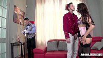 Luxury Diva Aurelly Rebel Fucks the Hotel Staff...