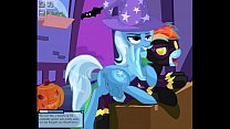 MLP - Clop - Trixie Or Treat by Tiarawhy (HD)