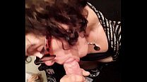 Step sister wanted my cock in her mouth while parents were gone
