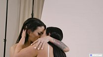 GIRLSWAY - This is what I called passionate lesbian sex! MUST SEE! - Angela White and Kissa Sins preview image