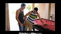 Thick&Big Stud rides his BF's thick cock