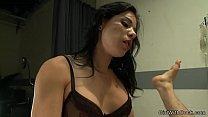 Tranny anal fucks guy in lingerie
